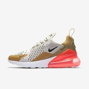 Nike AirMax 270 Gold